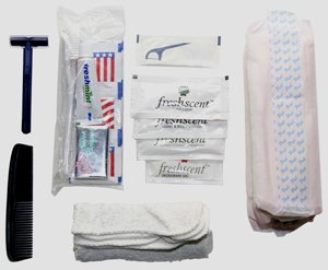 Feminie Hygeine Kit | 25+ 72 Hour Emergency Kit Items