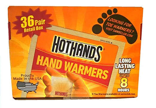 Hand Warmers | 25+ 72 Hour Emergency Kit Items