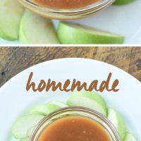 Homemade Salted Caramel Apple Dip