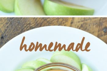 Homemade Salted Caramel Apple Dip