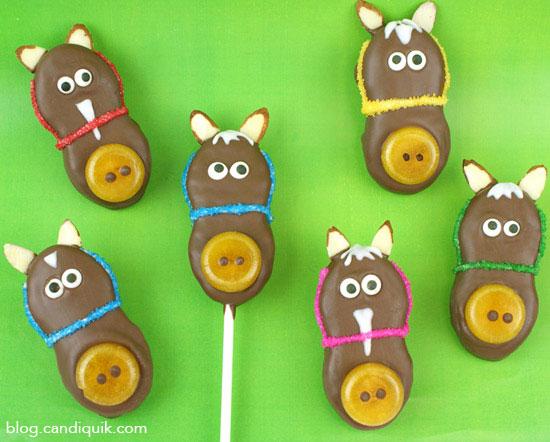 Horse Cookies | 25+ Creative Nutter Butter Cookies