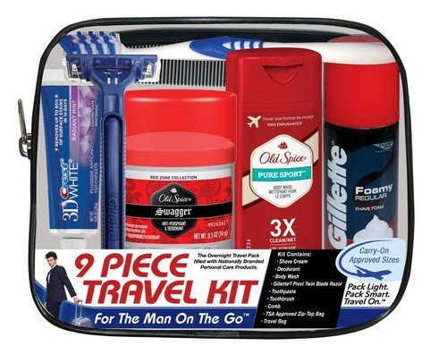 Mens Travel Kit | 25+ 72 Hour Emergency Kit Items