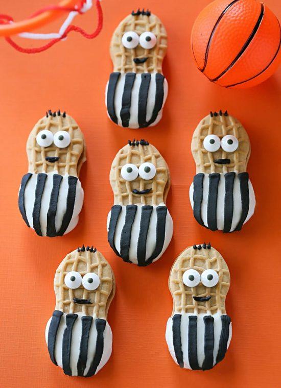 Nutter Butter Referees   25+ Creative Nutter Butter Cookies