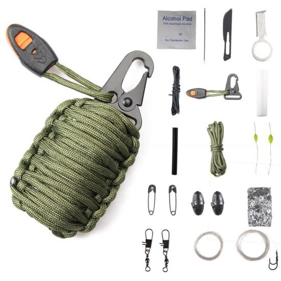 Paracord Emergency Kit | 25+ 72 Hour Emergency Kit Items
