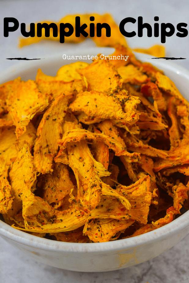 Pumpkin Chips | 25+ Savory Pumpkin Recipes