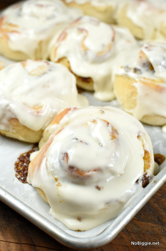 Pumpkin Cinnamon Rolls | 25+ More Sweet Pumpkin Recipes