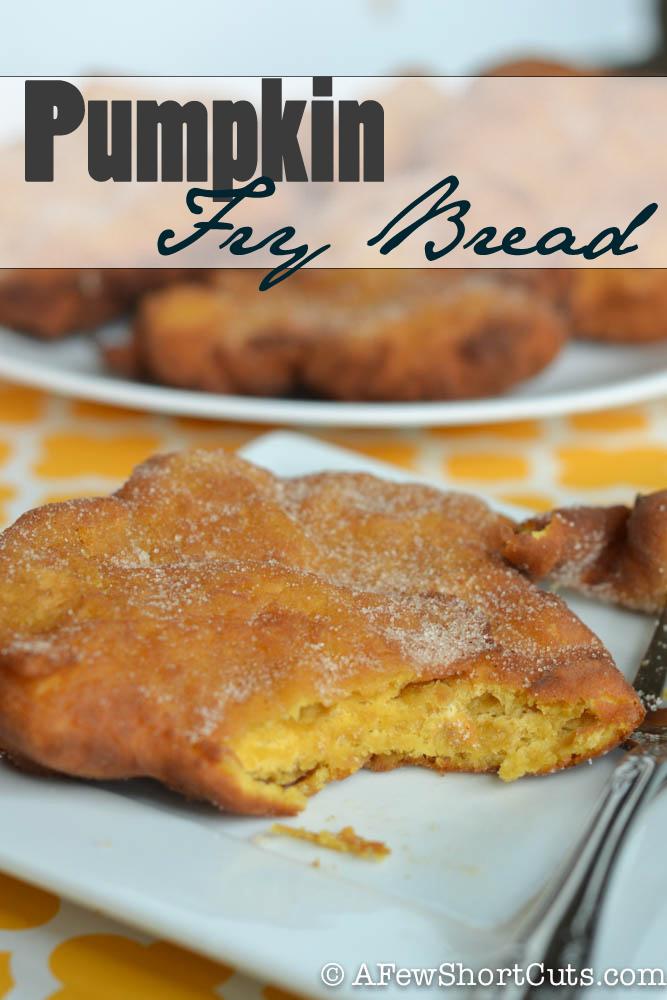 Pumpkin Fry Bread | 25+ Savory Pumpkin Recipes