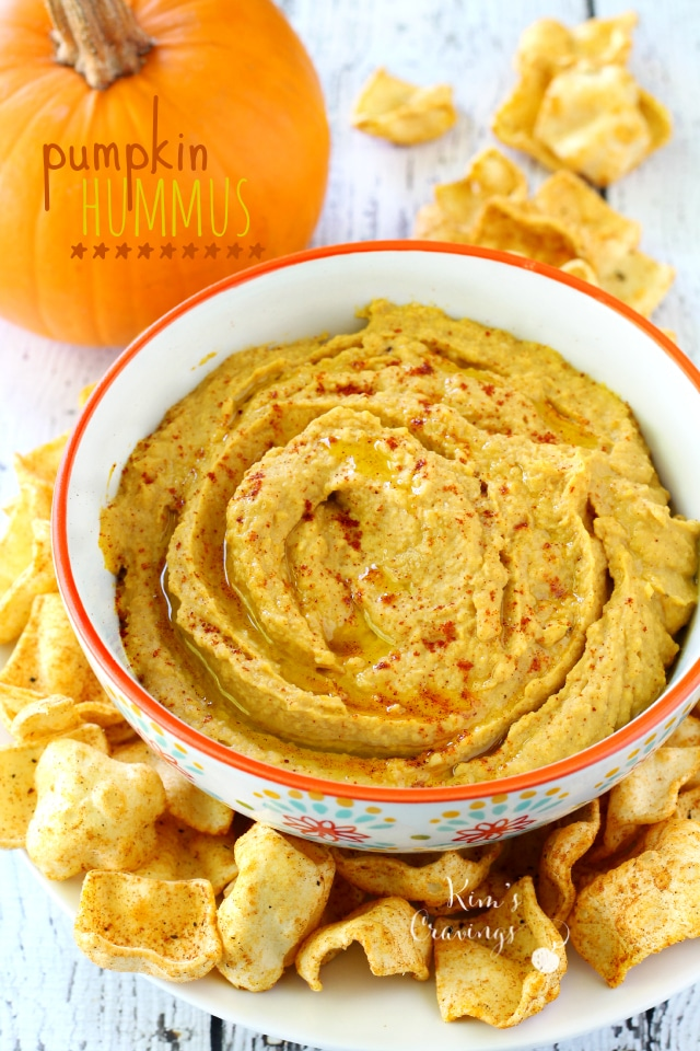 Pumpkin Hummus | 25+ Savory Pumpkin Recipes