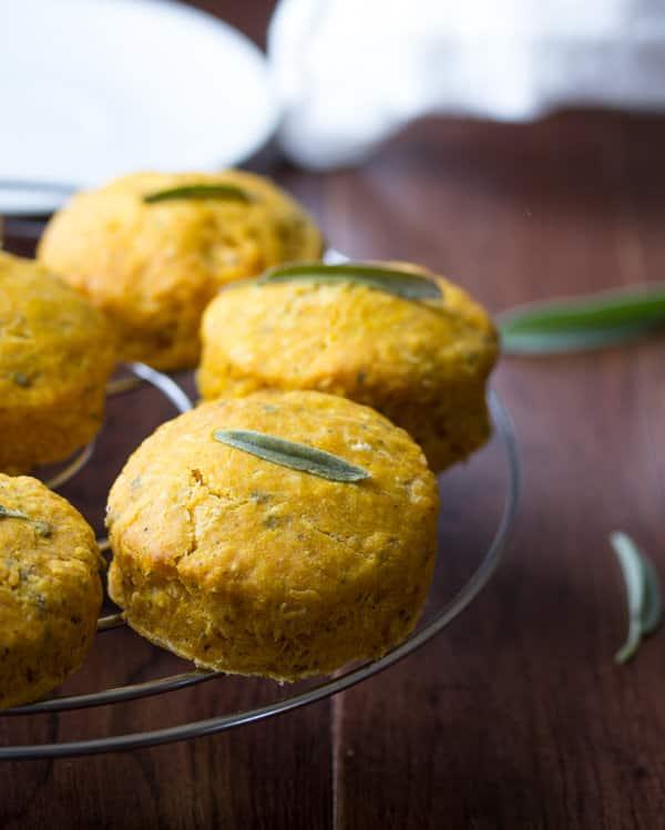 Pumpkin Sage Biscuits | 25+ Savory Pumpkin Recipes