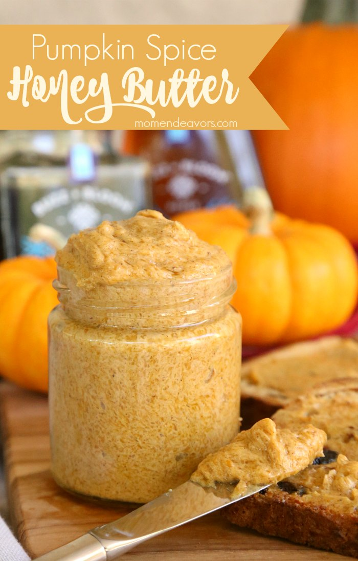 Pumpkin Spice Honey Butter | 25+ More Sweet Pumpkin Recipes