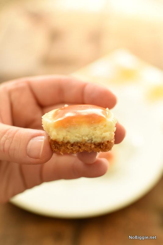 Salted Caramel Cheesecakes | NoBiggie.net
