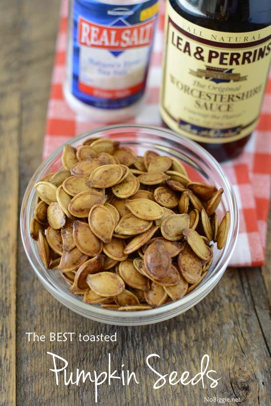 Toasted Pumpkin Seeds | 25+ Savory Pumpkin Recipes