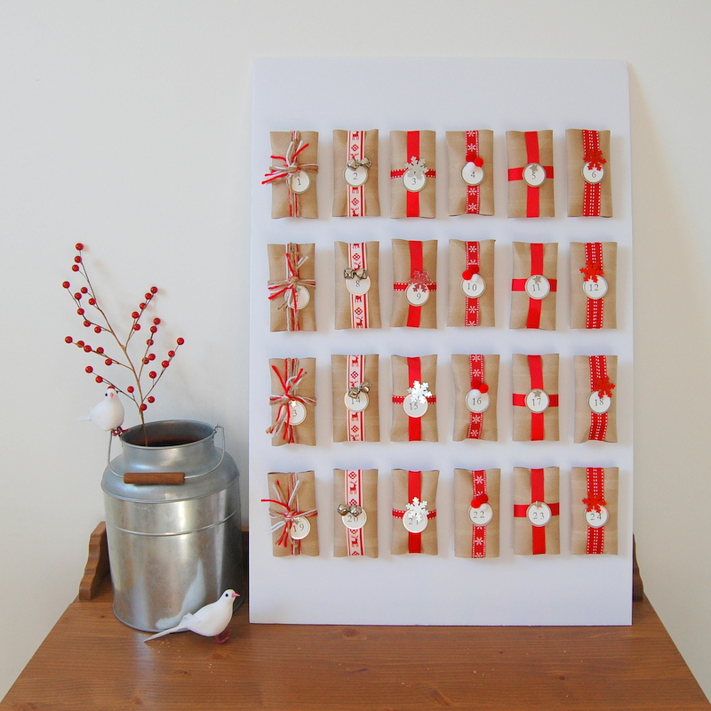 14 Creative DIY Christmas Advent Calendars
