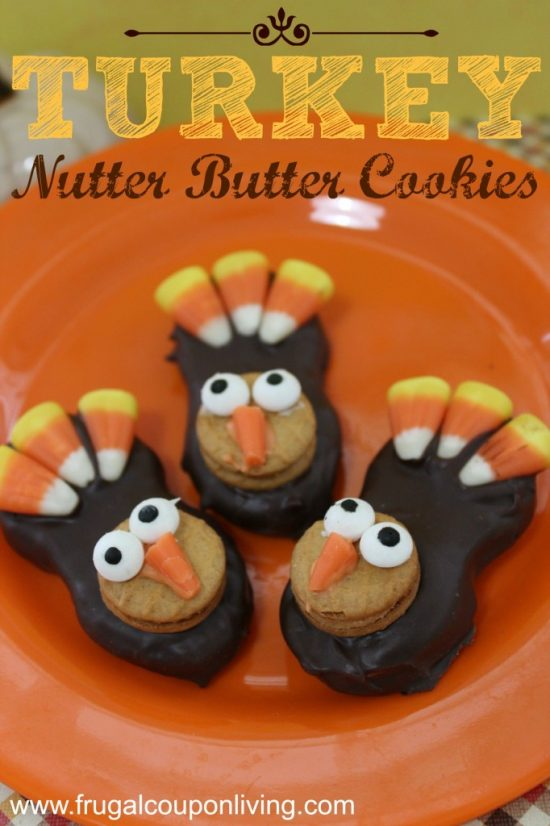 Turkey Nutter Butter Cookies   25+ Creative Nutter Butter Cookies
