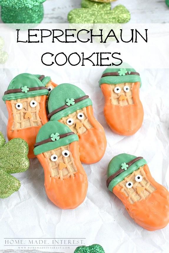 leprechaun nutter butter cookies | NoBiggie.net