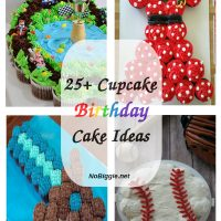 25+ Cupcake Birthday Cake Ideas