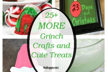 25+ MORE Grinch Crafts and Cute Treats
