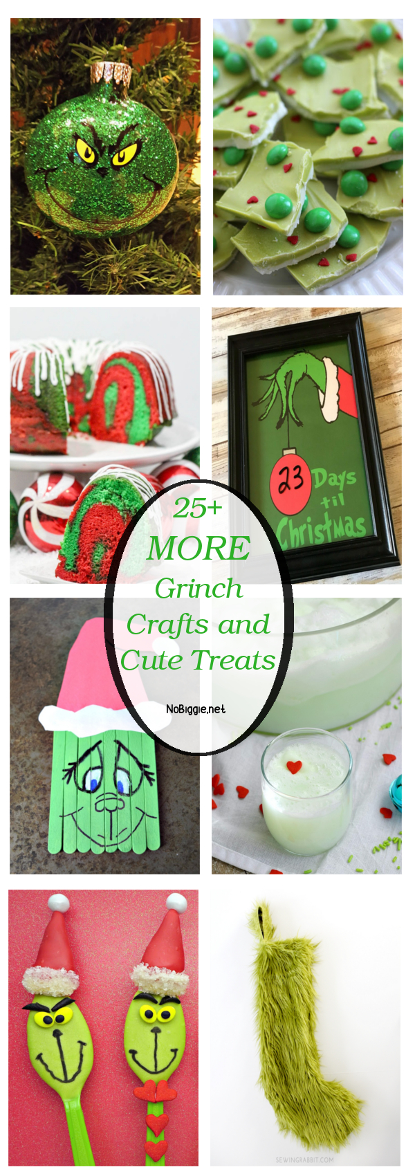 25+ MORE Grinch Crafts and Cute Treats | NoBiggie.net