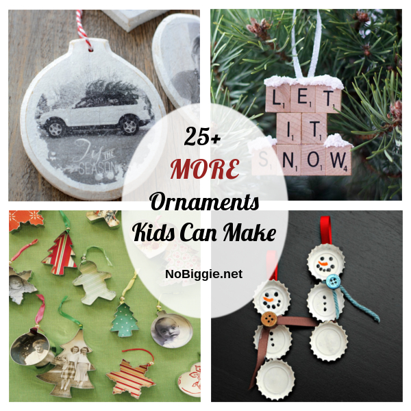 25+ MORE Ornaments Kids Can Make | NoBiggie.net