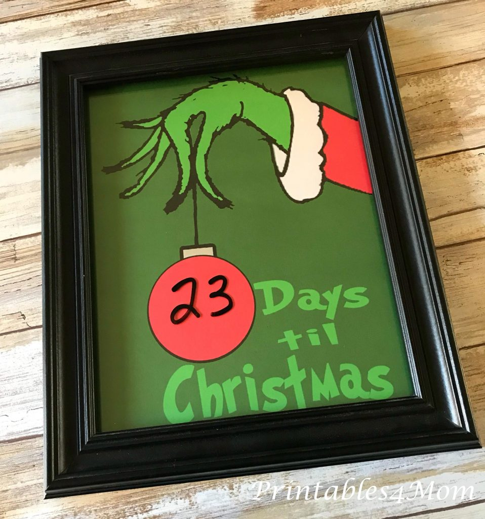 Christmas Countdown | 25+ MORE Grinch Crafts and Cute Treats