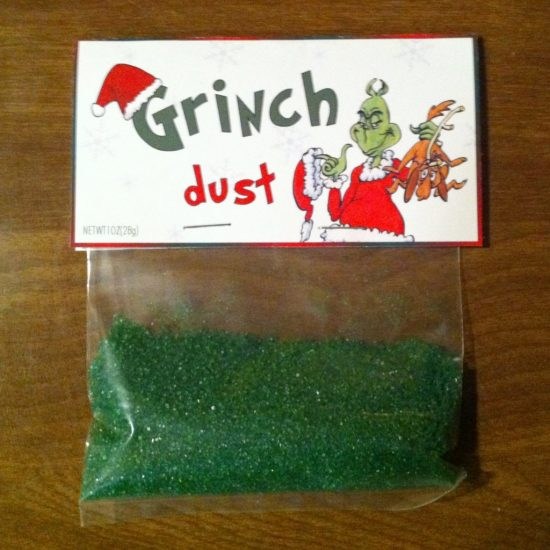 Grinch Dust | 25+ MORE Grinch Crafts and Cute Treats