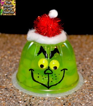 Grinch Jello Cups | 25+ MORE Grinch Crafts and Cute Treats