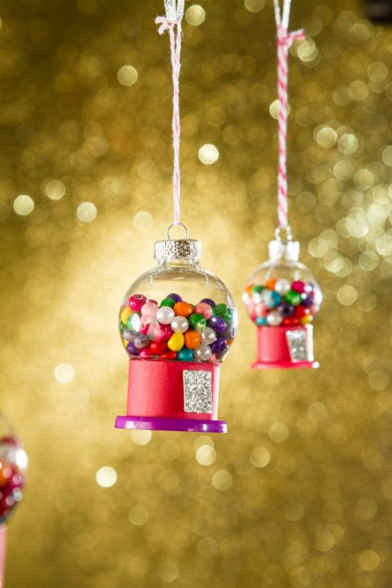 Gumball Machine Ornament | 25+ MORE Ornaments Kids Can Make