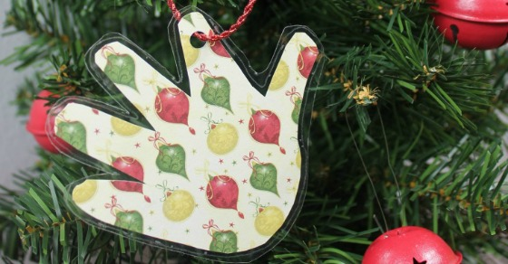 Handprint Ornament | 25+ MORE Ornaments Kids Can Make