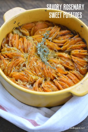 Savory Rosemary Sweet Potatoes