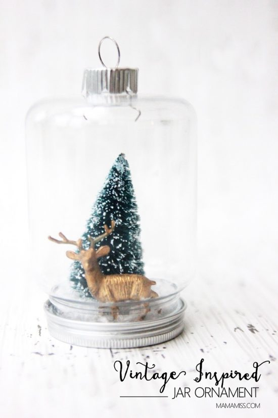 Snowglobe Ornament | 25+ MORE Ornaments Kids Can Make