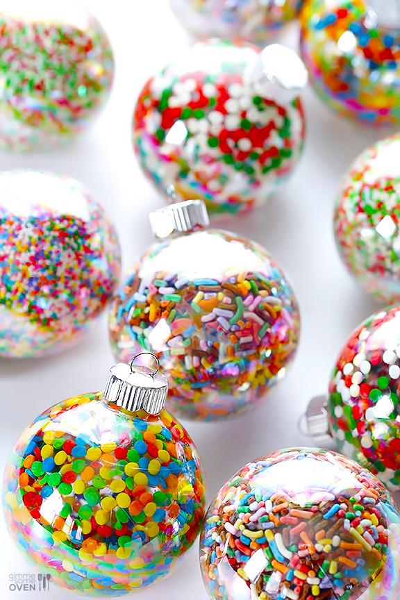 Sprinkle Ornaments | 25+ MORE Ornaments Kids Can Make