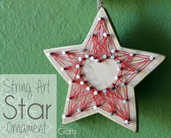 String Art Star Ornament | 25+ MORE Ornaments Kids Can Make