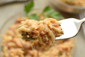 Cheesy Italian Herb Orzo