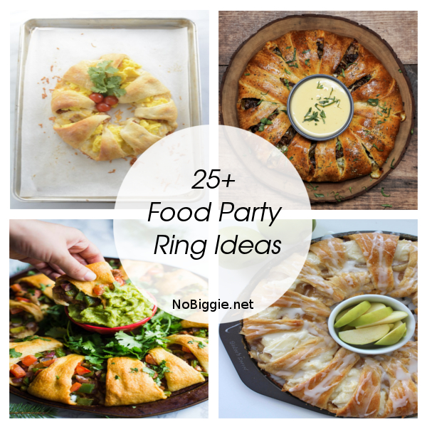 25+ Food Party Ring Ideas