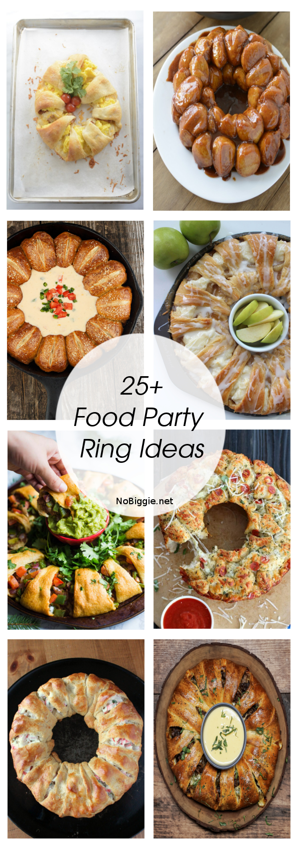 25+ Food Party Ring Ideas | NoBiggie.net
