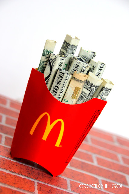 Fry Box | 25+ MORE Creative Ways to Give Money