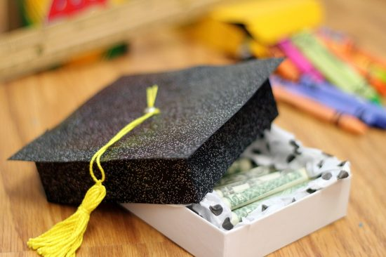 Graduation Hat Box | 25+ MORE Creative Ways to Give Money