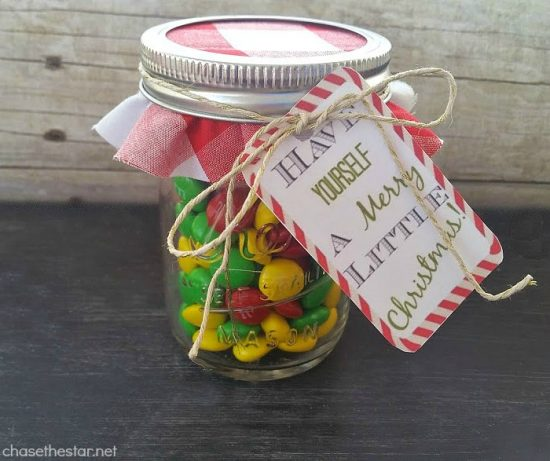 Mason Jar Candy | 25+ MORE Creative Ways to Give Money