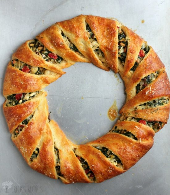 Mediterranean Crescent Ring | 25+ Food Party Ring Ideas