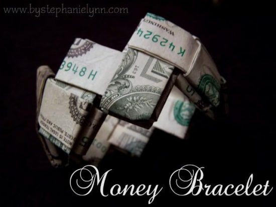 Money Bracelet | 25+ MORE Creative Ways to Give Money