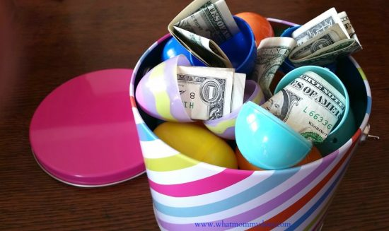 Money Easter Basket | 25+ MORE Creative Ways to Give Money