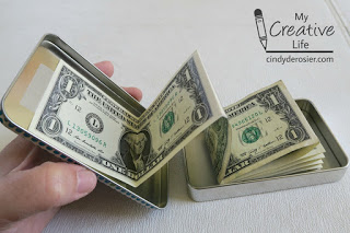 Money Tin | 25+ MORE Creative Ways to Give Money