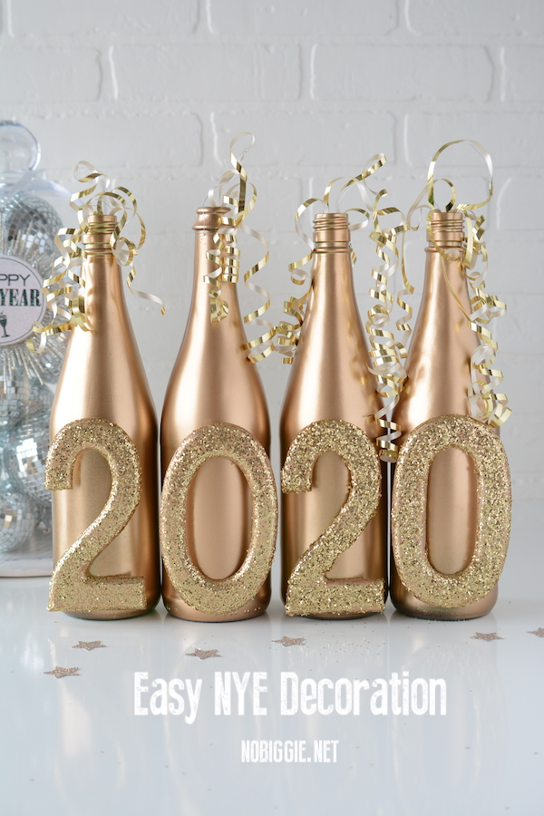 Easy NYE Decor