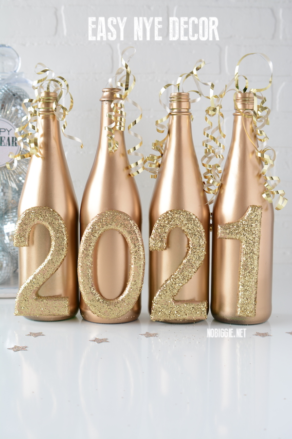 easy NYE decor | NoBiggie.net