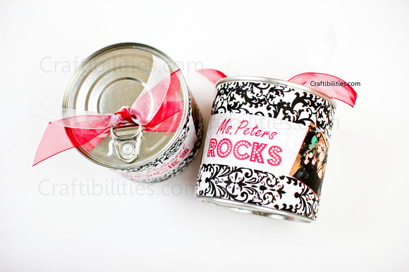 Surprise in a Can | 25+ MORE Creative Ways to Give Money