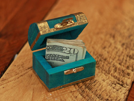 treaure chest 25 more creative ways to give money