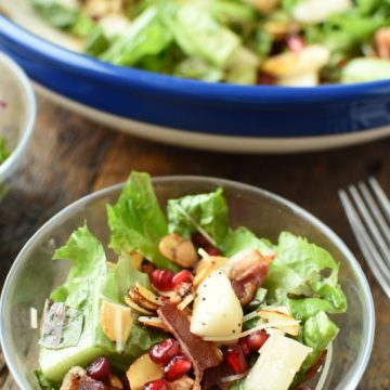 Winter Christmas Salad | NoBiggie.net
