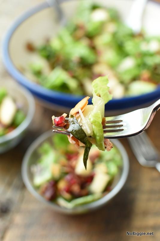 Winter pomegranate salad | NoBiggie.net