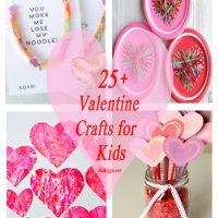 25+ Valentine Crafts for Kids