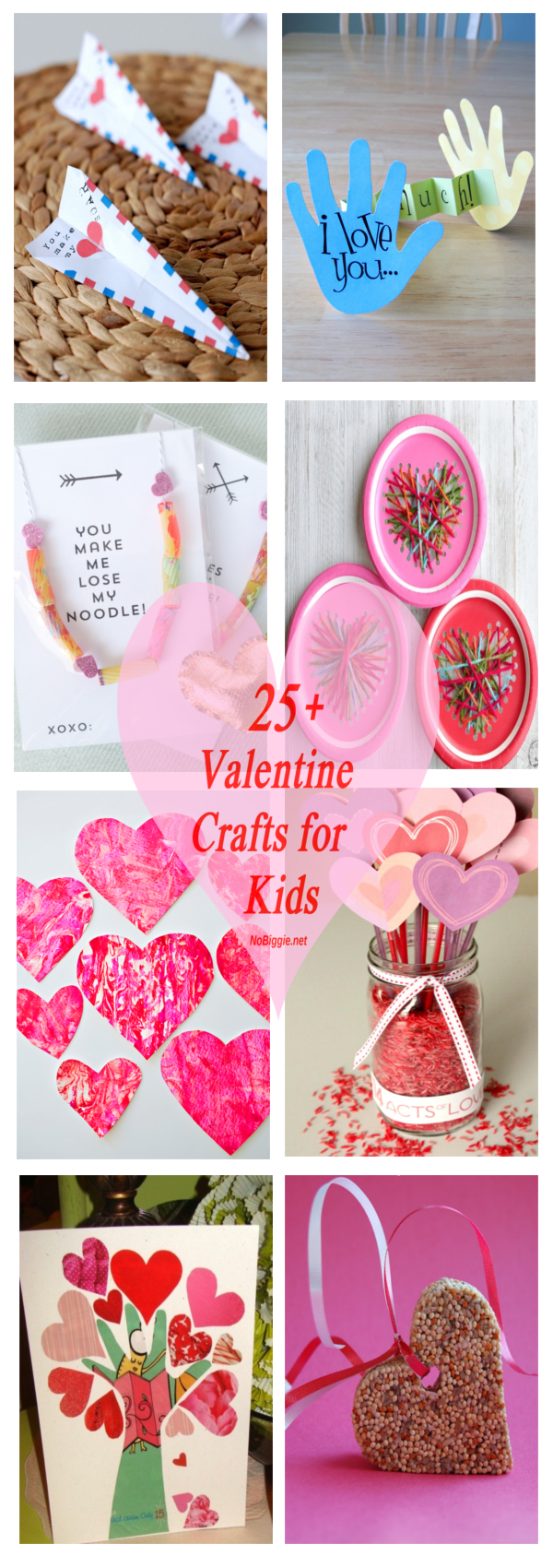Valentine Crafts for Kids that are perfect for everyone! #valentinesday #crafts #valentinecrafts #kidscrafts #craftsforkids